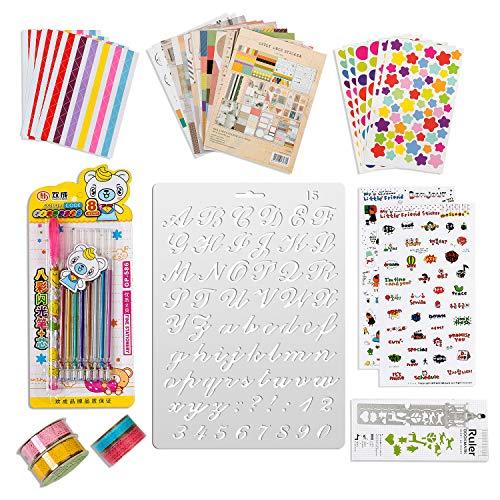 50 piezas accesorios de scrapbooking pegatina álbum de fotos pegatinas amor DIY diseño diario tarjetas decoración para libro de fotos