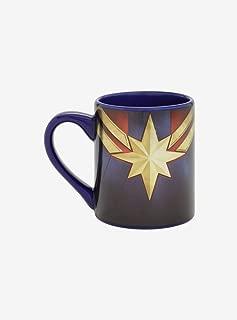 Marvel Captain Marvel Logo Mug