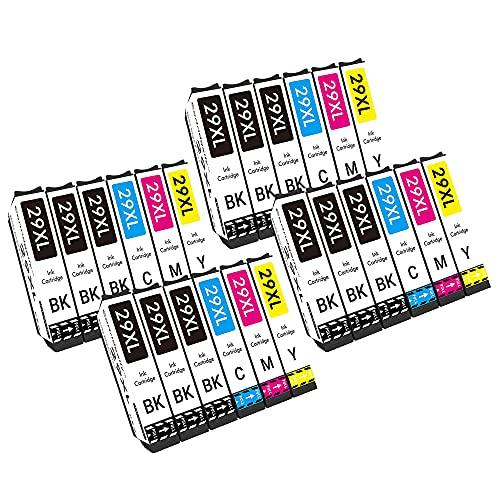 Cartridgeify 29XL Compatible con Epson 29 29XL Cartucho de Tinta, para Expression Home XP-235, XP-245, XP-247, XP-255, XP-257, XP-332, XP-335, XP-352, XP-342, XP-345, XP-455