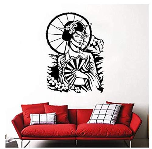 Sticker Mural Papier Peint Pvc Vinyle Sticker Sakura Fleur De Cerisier Style Art Mural Home Decor Intérieur 57X78Cm
