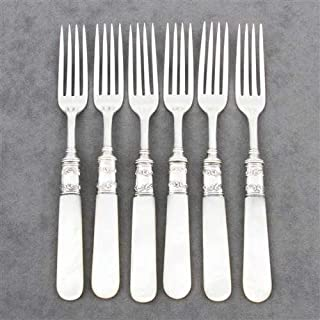 Pearl Handle by Landers, Frary & Clark 6 Luncheon Forks