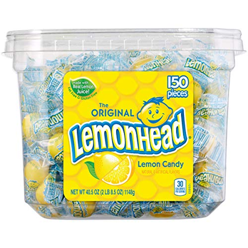 Lemonhead Candy 150 Count Tub