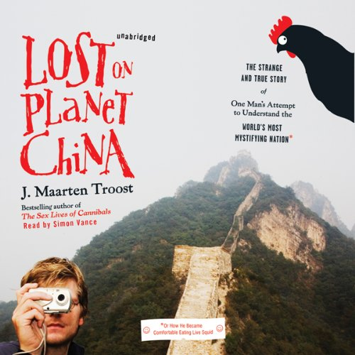 Lost on Planet China audiobook cover art