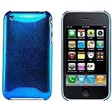 Logotrans Rain Series Coque rigide pour Apple iPhone 3G/3GS Bleu (Import Allemagne)