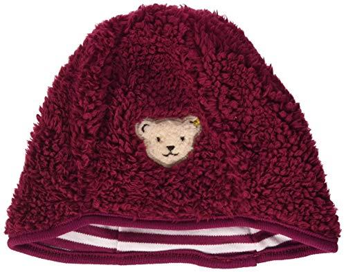 Steiff Baby-Mädchen Mütze, Rot (BEET RED 4010), 51 (Herstellergröße:51)