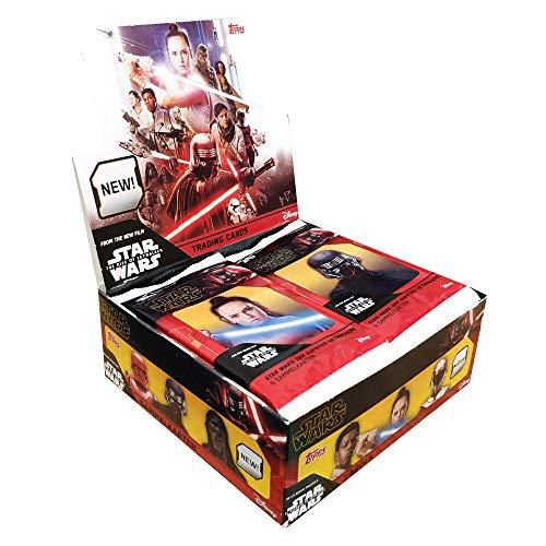 Topps Star Wars - El Ascenso de Skywalker Caja de 30 Sobres (180 Cartas)