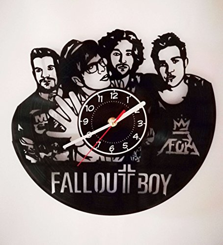 FALL OUT BOY Vinyl Record Wall Clock - Best Decor for Your bedroom - Music Band Gifts - My Songs Know What You Did in the Dark