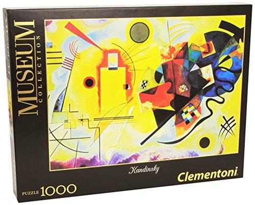 Clementoni 39195.0 - Puzzle 1000 teilig Kandinsky - Gelb-Rot-Blau