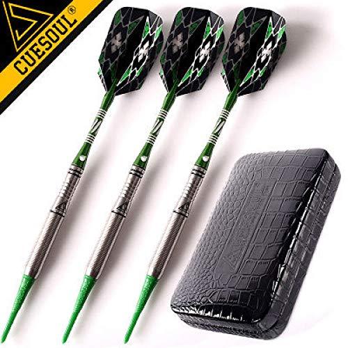 XINTANG Soft Dart Pfeile Set Professionelle Darts 90% Wolfram Soft Darts 18 Gramm 15Cm Mit Etui Für Indoor-Sportflugspiel Für Erwachsene Und Kinder