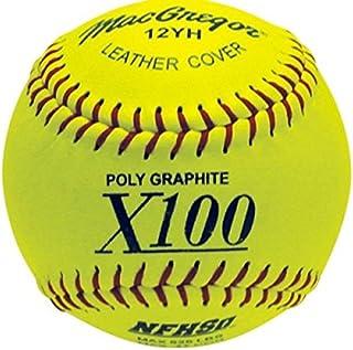MacGregor NFHS Fast Pitch Softball, 12-inch (One Dozen)