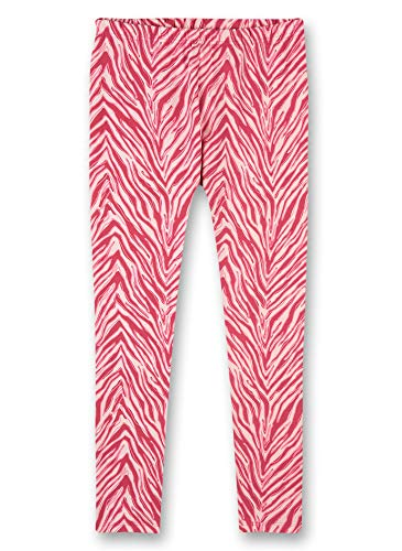 Sanetta Mädchen Pyjama Leggings rosa Pyjamaunterteil, Rose, 164