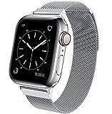 BRG コンパチブル Apple Watch バンド コンパチブル アップルウォッチバンド ステンレス留め金製 コンパチブル Apple Watch ベルト コンパチブル Apple Watch SE/6/5/4/3