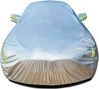 Car cover Compatible With Ford Focus Hatchback All Weather Protection Auto Built In Lint Thicken Waterproof Full Exterior Covers UV Protection Automobiles Car Outdoor Shelters Sunscreen Heat Protectio