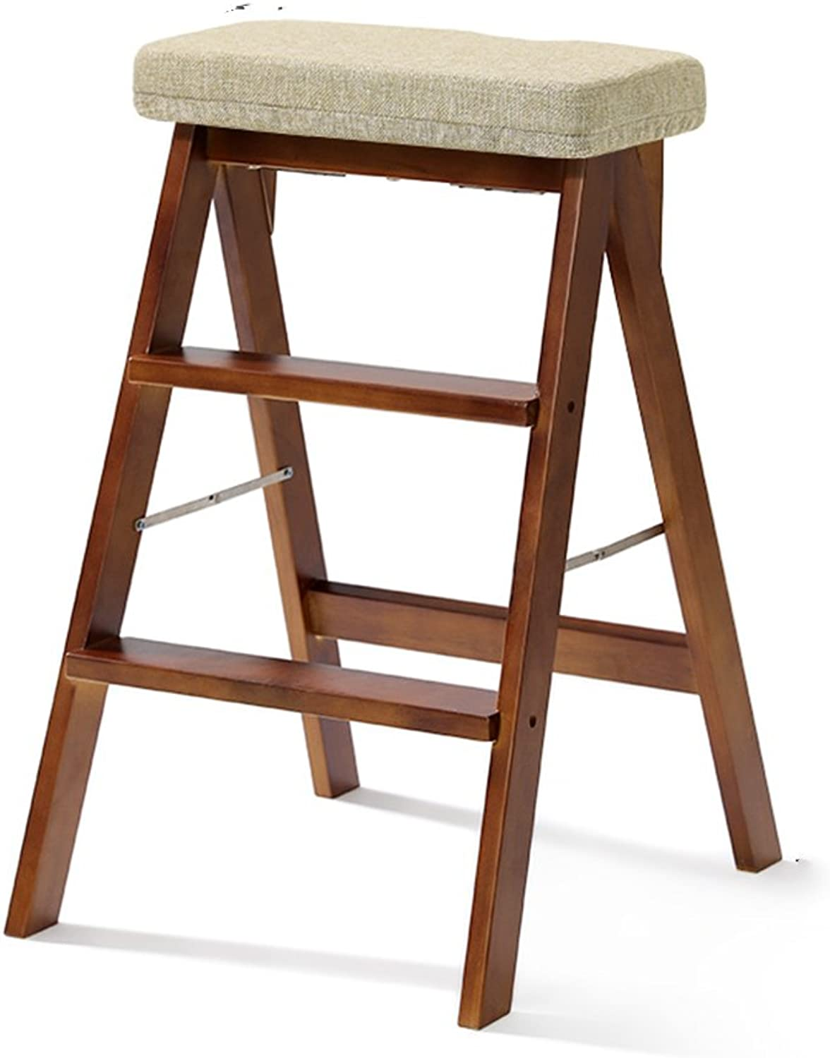 Ladder Chair, Folding Kitchen Steps Portable Folding Solid ...