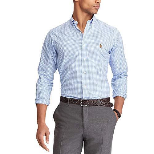 Ralph Lauren Hemden Classic Slim Fit (M, Blue/White)