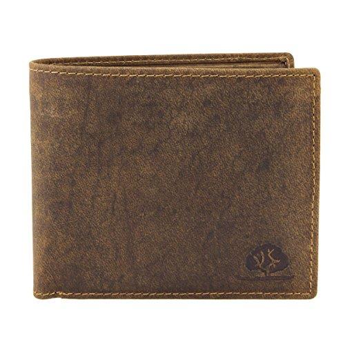 Green Burry Portemonnaie 1796, Farbe:braun