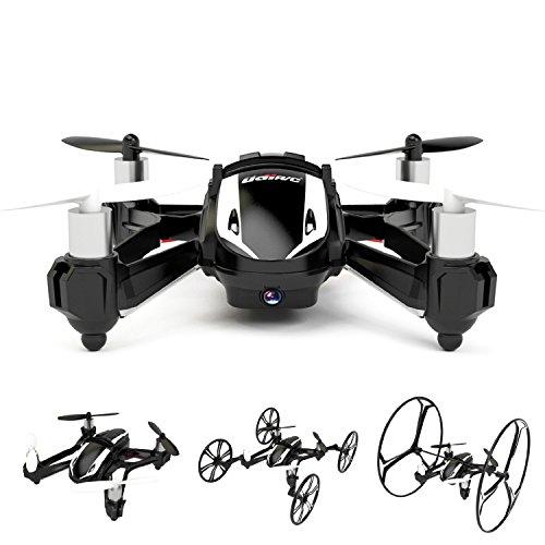 Udi RC U841 U841-1 2.4G 4CH 6 Achsen Gyro RC Quadrocopter 4 in 1 Luft Boden amphibischen RTF UFO mit HD Kamera Speed Switch Mode Ground Mode Flip Modus