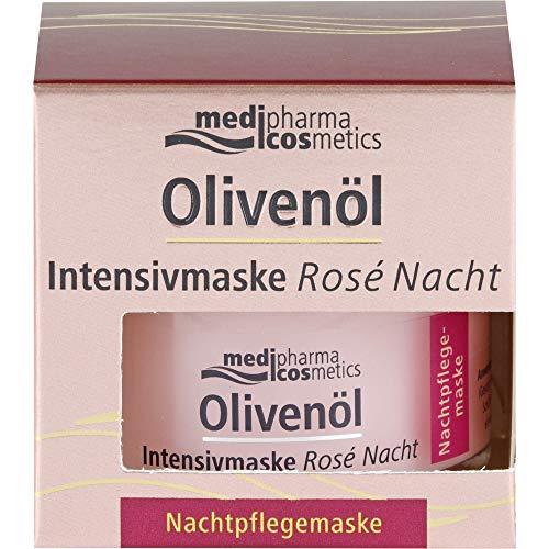 medipharma cosmetics Olivenöl Intensivmaske Rosé Nacht, 50 ml Creme
