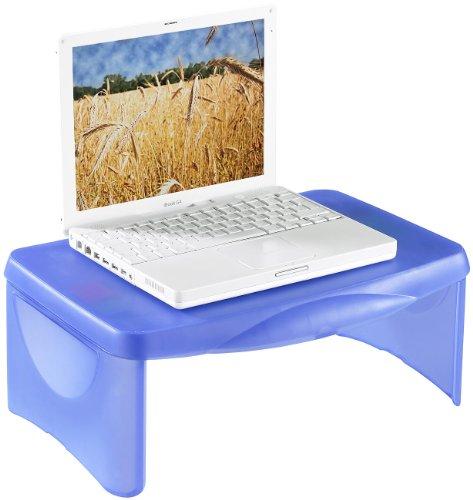 General Office Mobiler Laptoptisch: Mobiler Notebook-Tisch mit integrierter Ablage (Notebooktische)