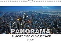 Panorama. XL-Ansichten aus aller Welt (Wandkalender 2022 DIN A4 quer): Bekannte und weniger bekannte Metropolen, Landschaften und Regionen im XL-Format. (Monatskalender, 14 Seiten )