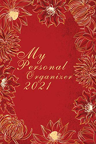 My Personal Organizer 2021: Pocket Calendar 2021 6x9 with a yearly and monthly overview   Appointment Calendar 2021   Annual planner   Weekly planner   fashionable & simple   Personal Organizer