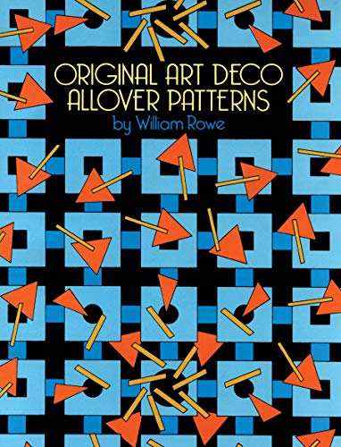 Original Art Deco Allover Patterns (Dover Pictorial Archive) (English Edition)