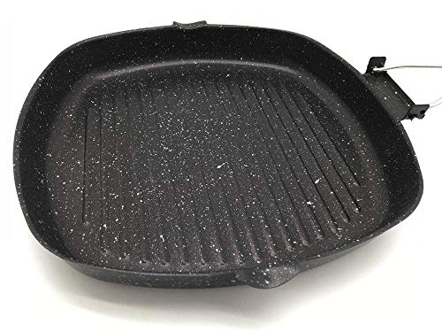 Grote Wok, Pan Set, Maifan Stone Non-Stick Pan Household Wok Pan Steak Pan-Zwart White_Sample alleen, inductie kookplaat/Vaatwasser, Wok Cook Book ZHANGKANG