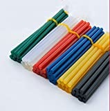 Palos de pegamento caliente, 10 piezas de color barra de pegamento 7 / 11x270mm de fusión en caliente barra de pegamento 7 mm / 11 mm de diámetro hogar DIY barra de pegamento caliente industrial para