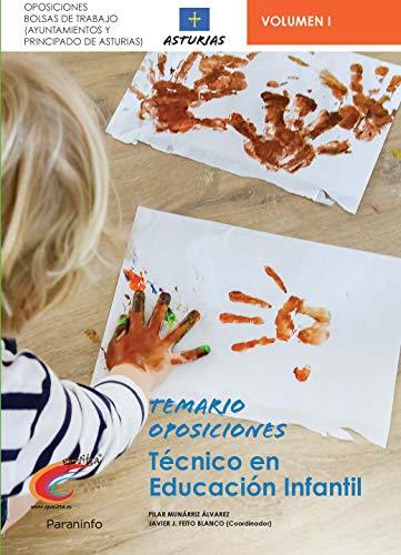 Temario Oposiciones Bolsa de Trabajo para Técnicos de Educación Infantil. Ayuntamientos de Asturias y Principado de Asturias