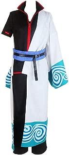 Gintama Silver Soul Gintoki Sakata Cosplay Costume Full Set