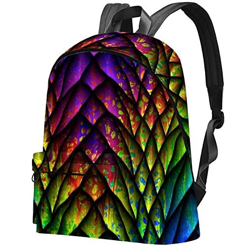 Staroutah zaino bookbag daypack borsa da scuola escursionismo Laptop backpacking Borsa da viaggio all'aperto ad alta capacità e moda Borsa da lavoro Modello con pelle vintage Pelli