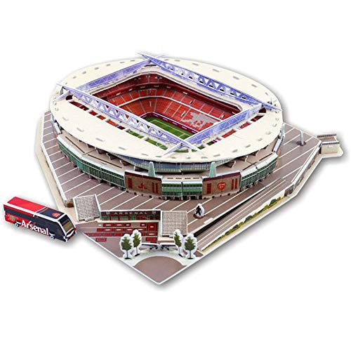 Adayo 3d Football Stadiums Intelligent Puzzle Suitable For All Football Fans (Emirates Stadium)