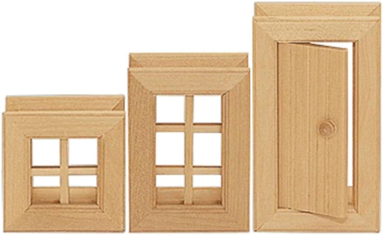 VARIS European Made Wooden Windows and Doors III (3 Pieces) by Varis