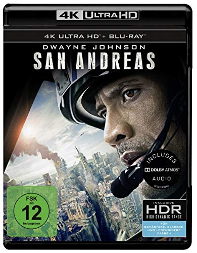San Andreas (4K Ultra HD + 2D-Blu-ray) (2-Disc Version) [Blu-ray]
