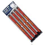 com-four® 4X Magnet Werkzeughalter - Magnetleiste für Werkzeug - Magnetschiene für die Werkstatt - Werkzeug Aufbewahrung - jeweils 40 cm