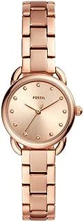 Fossil ES4497 Reloj Dama, Extensible Acero Oro Rosado, Caratula Oro Rosado, Estándar
