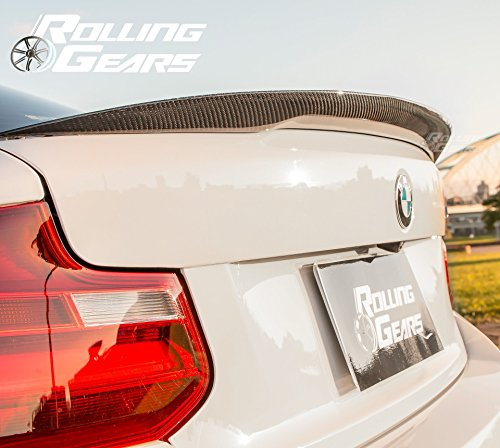 Rolling Gears E92 M3 Coup/é Spoiler de Coffre en Fibre de Carbone