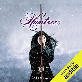 Huntress audiobook cover art