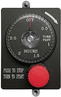 Firegear Mechanical Timer with Emergency Shut-Off (ESTOP2-5H), 2.5-Hour