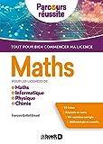 Maths pour les licences de Maths, Informatique, Physique, Chimie