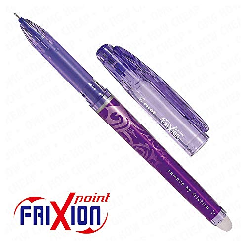 - Frixion Point Roller effaçable-Pointe Ultra Fine - 1 personne-Pourpre