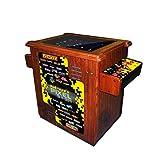 NAMCO America, inc. Pac-Man's Pixel Bash Cocktail Table – Wood Grain