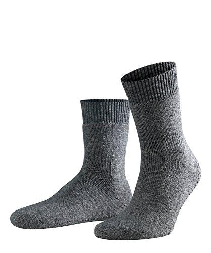 FALKE Herren Socken, Homepads SO- 16500, Grau (Asphalt Melange 3180), 43-46