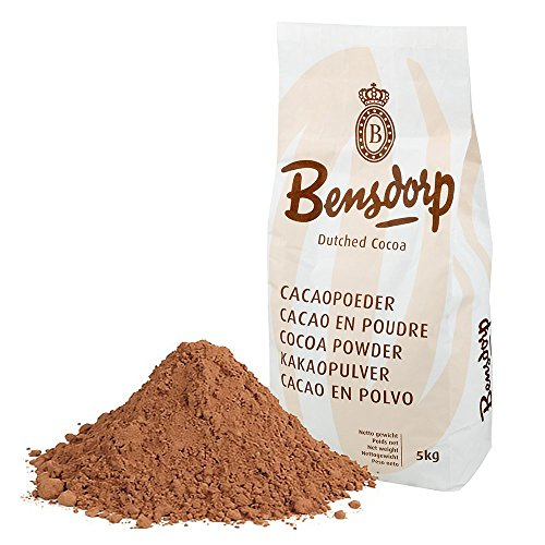 Callebaut Bensdorp Unsweetened Baking Cocoa Powder - Premium Cocoa Powder With 22/24% Cocoa Butter Content Dutch-Processed - GLUTEN FREE - 11 Lbs
