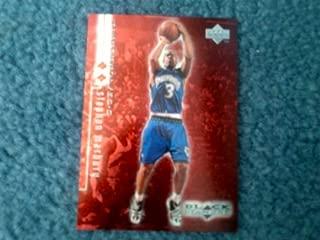 1998-1999 NBA Upper Deck Black Diamond Stephon Marbury Two Diamond Red Insert #56 Limited Edition 1495/3000! Minnesota Timberwolves, New York Knicks, New Jersey Nets, Phoenix Suns, Boston Celtics, Beijing Ducks
