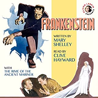 Frankenstein & The Rime of the Ancient Mariner cover art