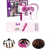Automatischer Haarflechter Haarflechtwerkzeug Kinder,Kreative Automatische Flechtmaschine Easy Braids Playset Diy Electric 3 Twist Hair Braided Kit FüR Twist Head Braider