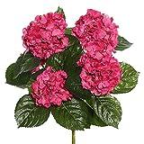 Vickerman FL171503 Floral Hydrangea Bush