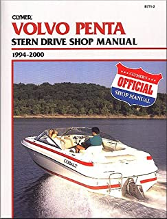 CLYMER MANUAL, VOLVO PENTA STRN DRV 1994-2000, Manufacturer: CLYMER, Part Number: 274183-AD, VPN: B7712-AD, Condition: New