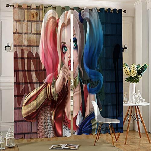 51hHQFT-0uL Harley Quinn  Curtains